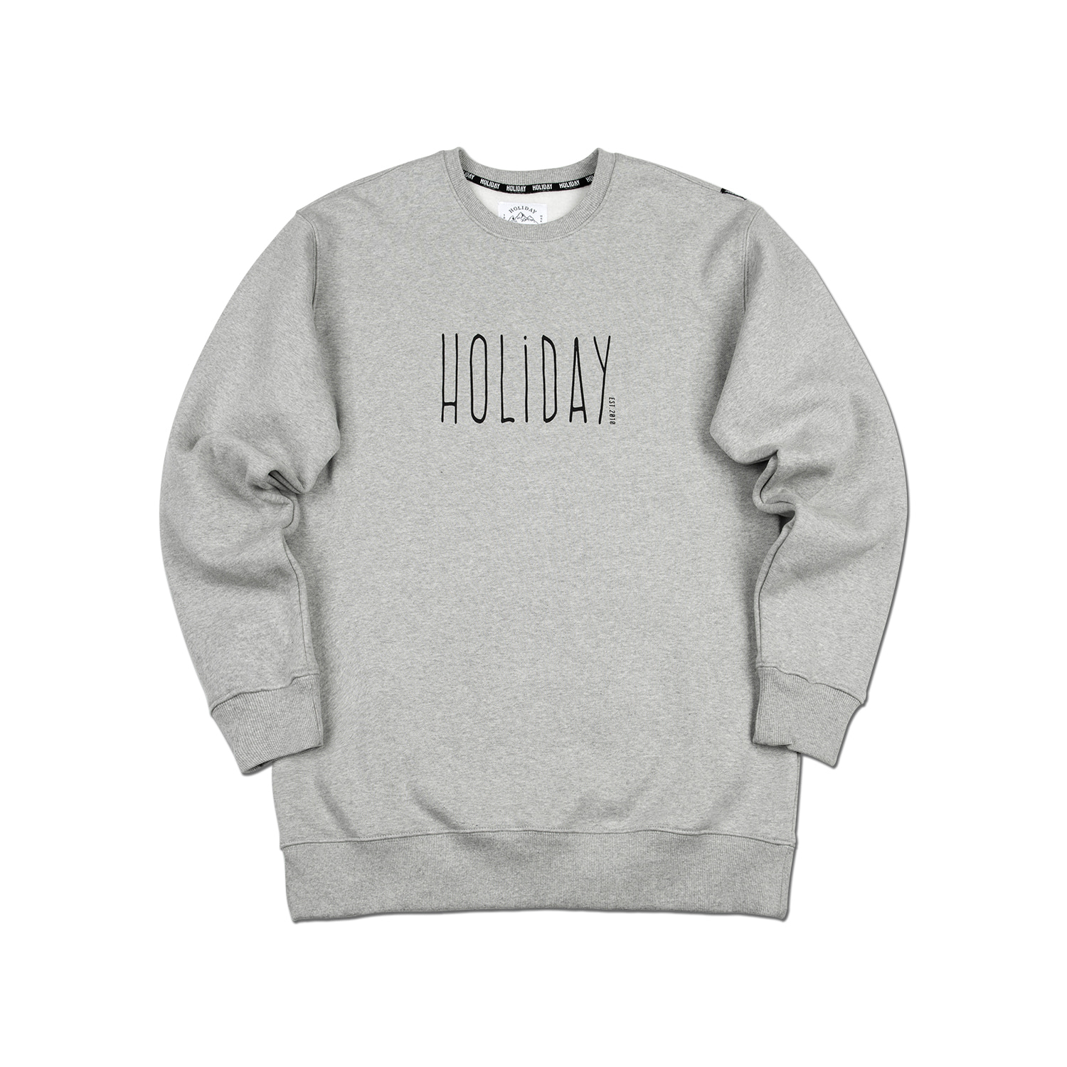 JOY crewneck - melangeHOLIDAY OUTERWEAR