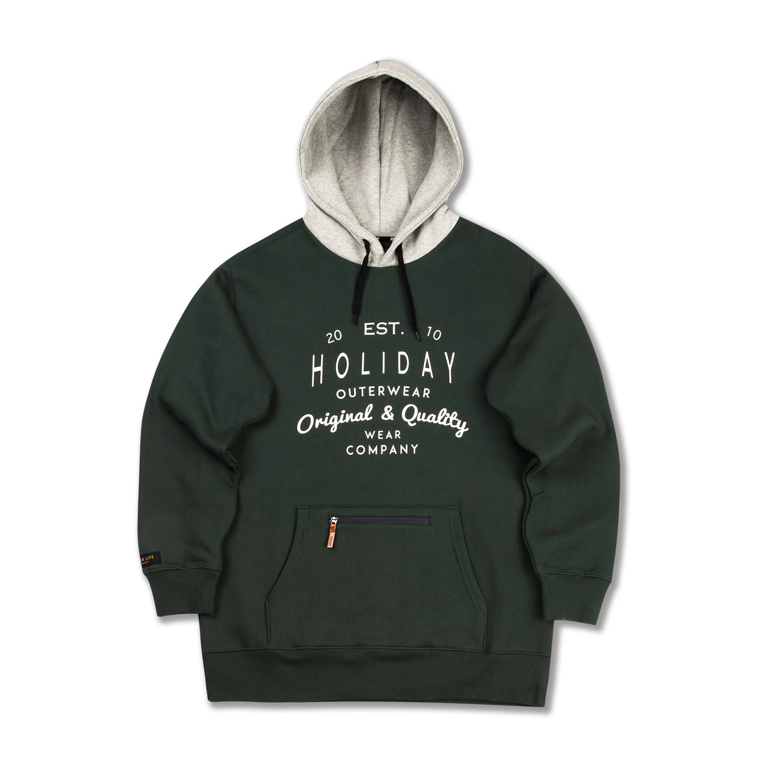 BLOOM hoodie - khakiHOLIDAY OUTERWEAR