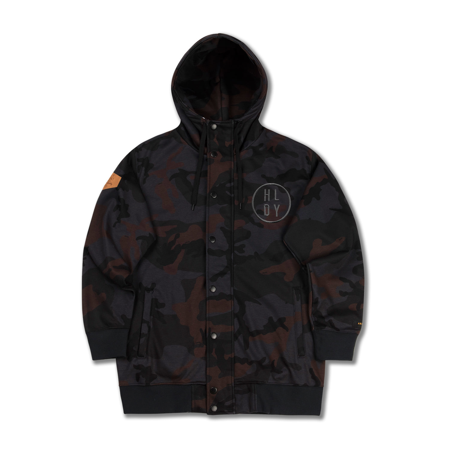 PLAYER waterproof zipup[방수후드] - camoHOLIDAY OUTERWEAR