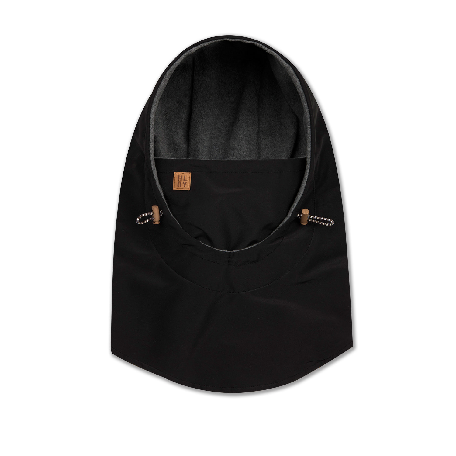 HELMET hood warmer[waterproof,방수] - blackHOLIDAY OUTERWEAR