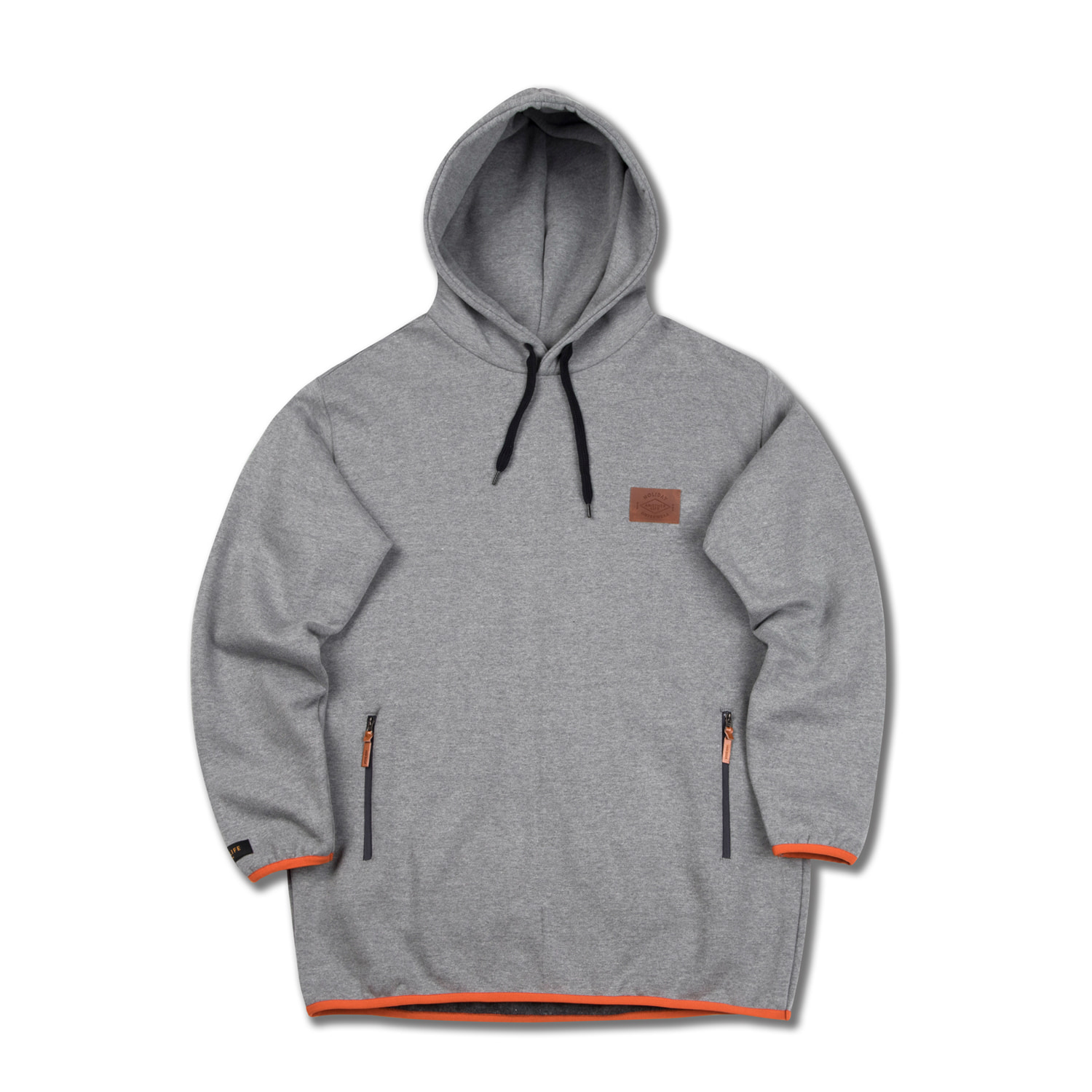 EASY hoodie - grayHOLIDAY OUTERWEAR