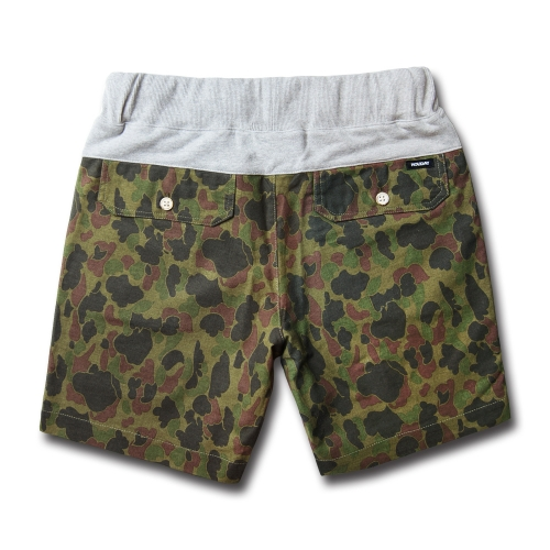 COMFORT short pants duck green camouflage [재입고]