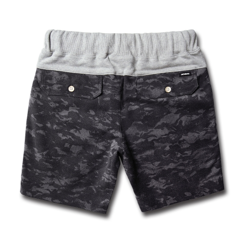 COMFORT short pants city black camouflageHOLIDAY OUTERWEAR
