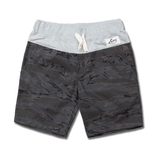 HOLIDAYOUTERWEAR [홀리데이아우터웨어]COMFORT short pants - tiger gray