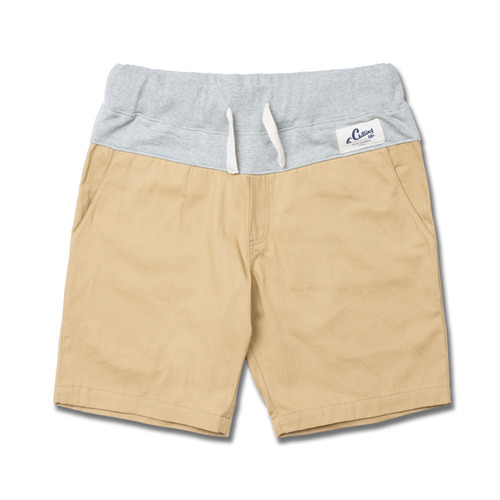 HOLIDAYOUTERWEAR [홀리데이아우터웨어]COMFORT short pants - beigeHOLIDAY OUTERWEAR