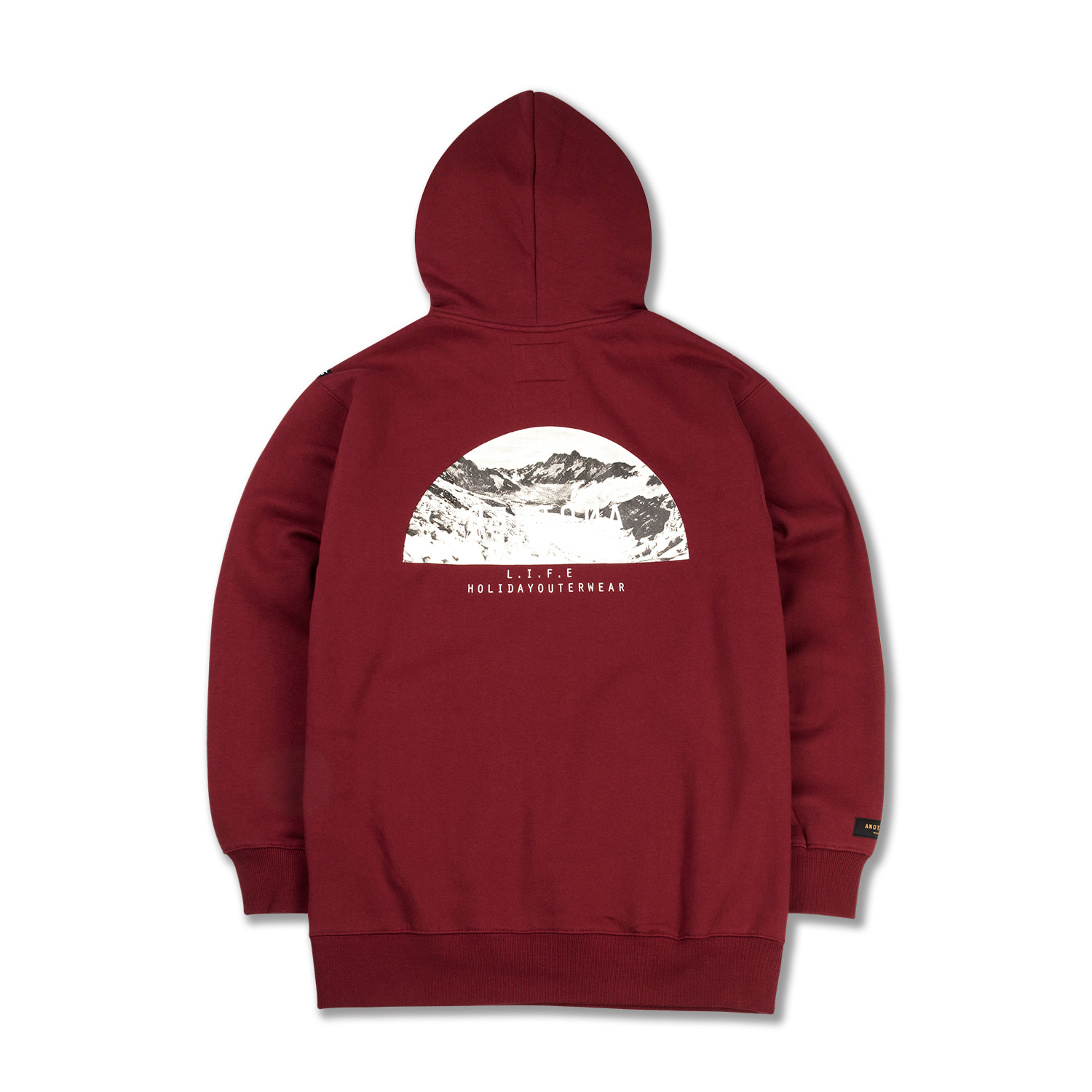 MOONLIGHT hoodie - burgundyHOLIDAY OUTERWEAR