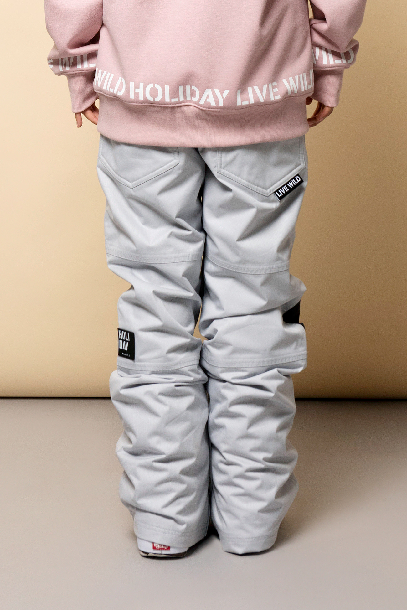 WILD pants - grayHOLIDAY OUTERWEAR