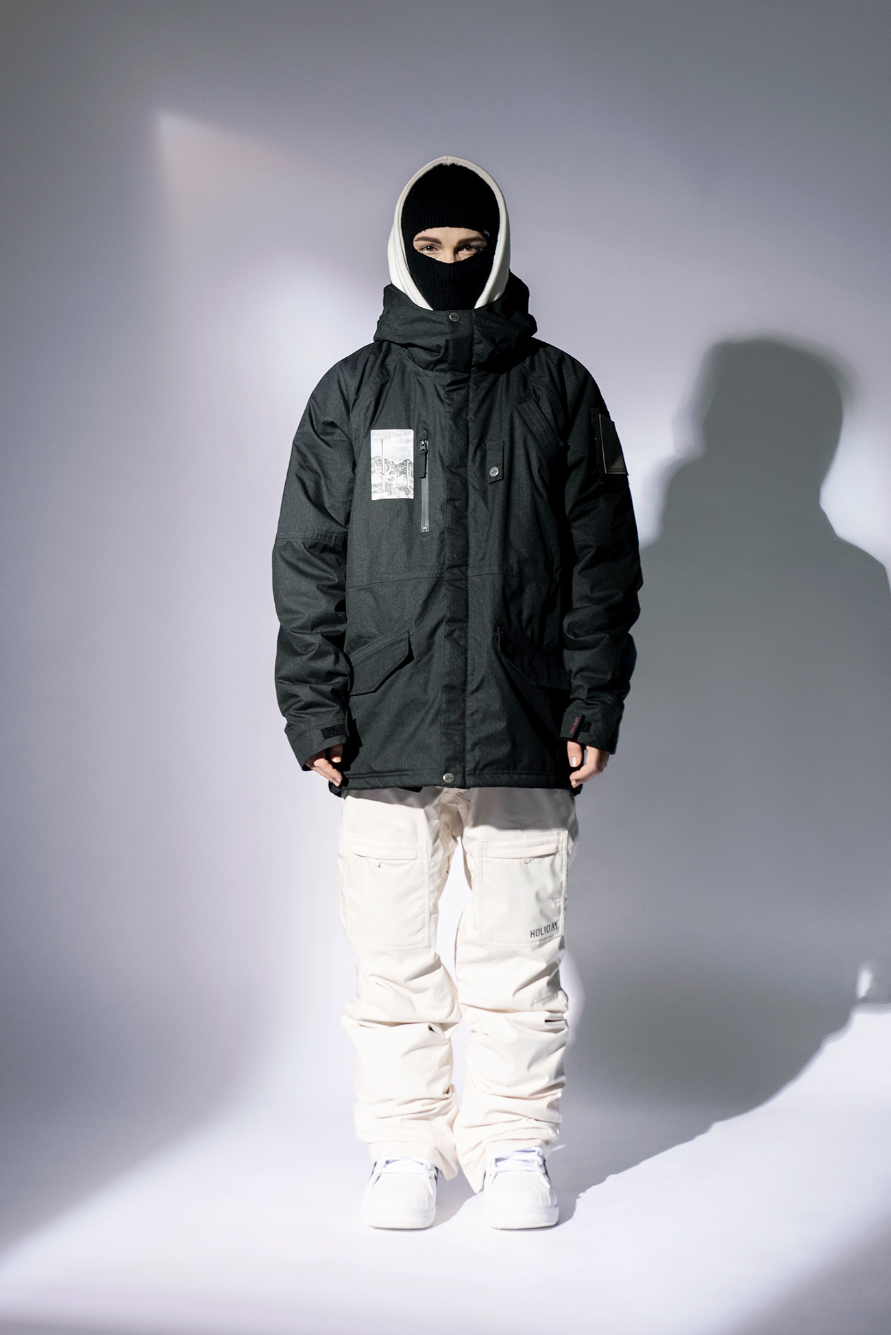 ARCTIC jacket - charcoalHOLIDAY OUTERWEAR