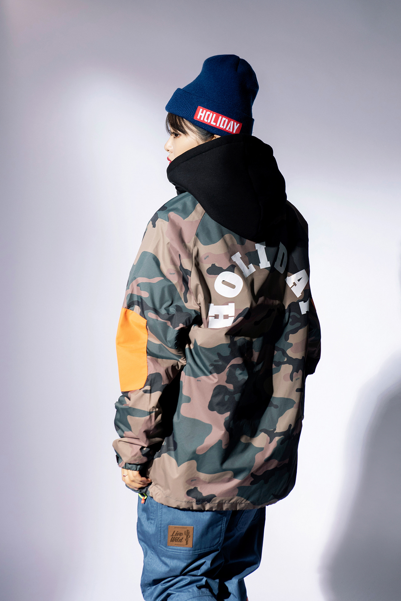LIGHT coach jacket - camoHOLIDAY OUTERWEAR