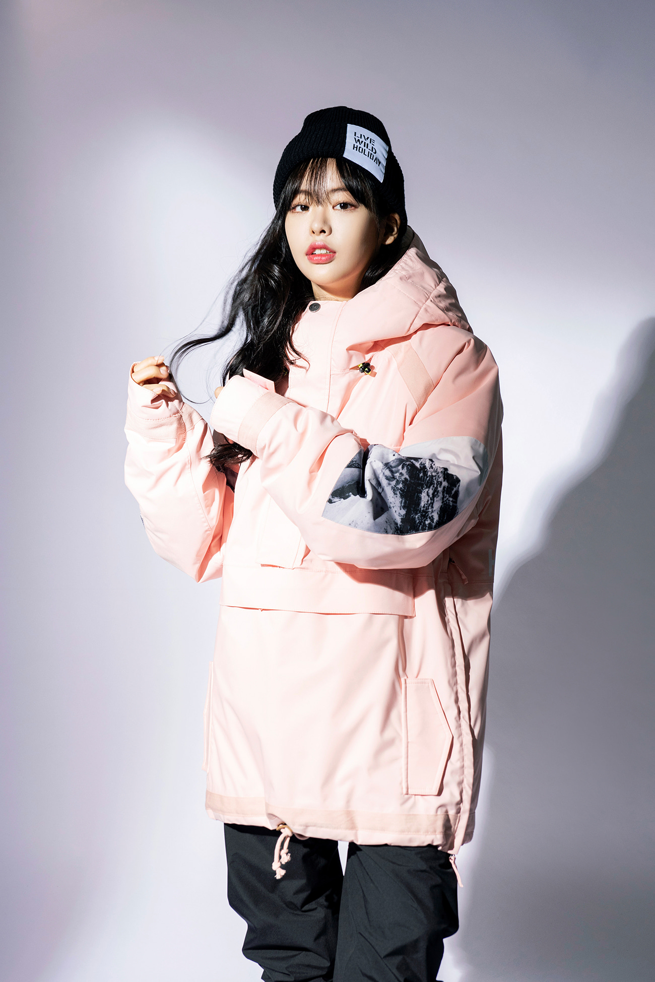 PIONEER anorak jacket - pinkHOLIDAY OUTERWEAR