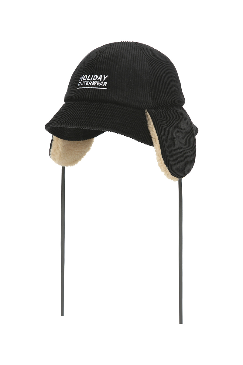 3 UTIL bucket hat - blackHOLIDAY OUTERWEAR