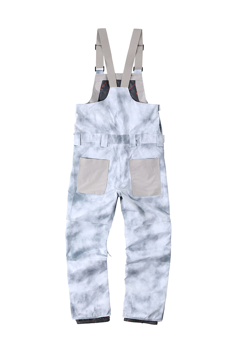 DIGGER 2L bib pants - cloud greyHOLIDAY OUTERWEAR