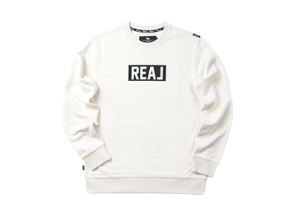URBAN REAL sweat shirt - cream