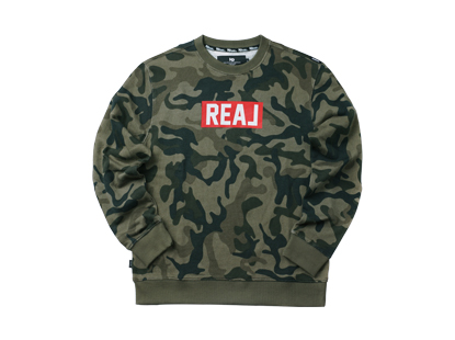 URBAN REAL sweat shirt  - camouflageHOLIDAY OUTERWEAR
