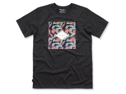 TROPICAL short sleeve charcoal