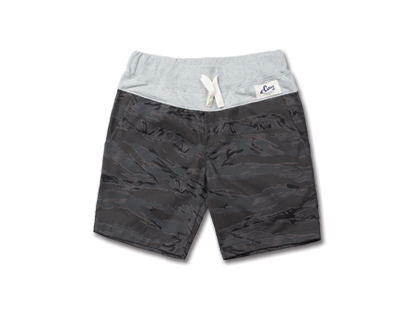 HOLIDAYOUTERWEAR [홀리데이아우터웨어]COMFORT short pants - tiger grayHOLIDAY OUTERWEAR