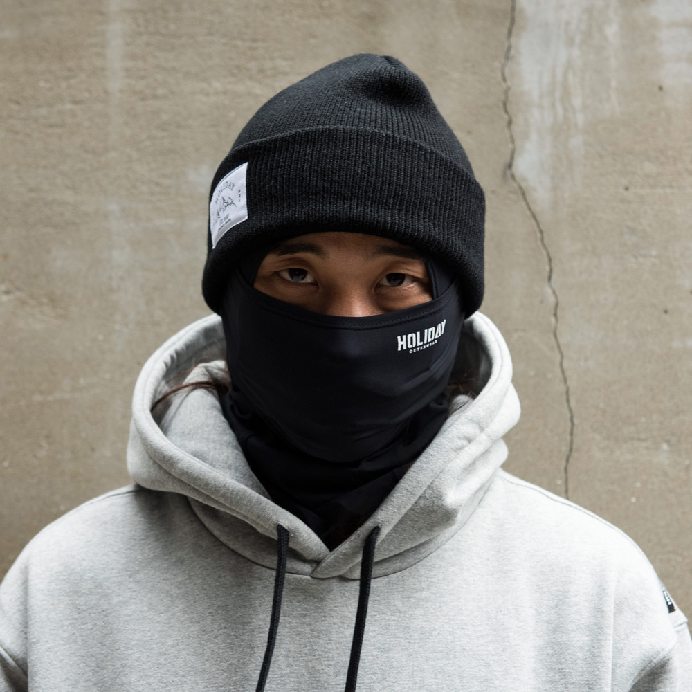 남자 바라클라바 NEO balaclava - black[comfort]HOLIDAY OUTERWEAR