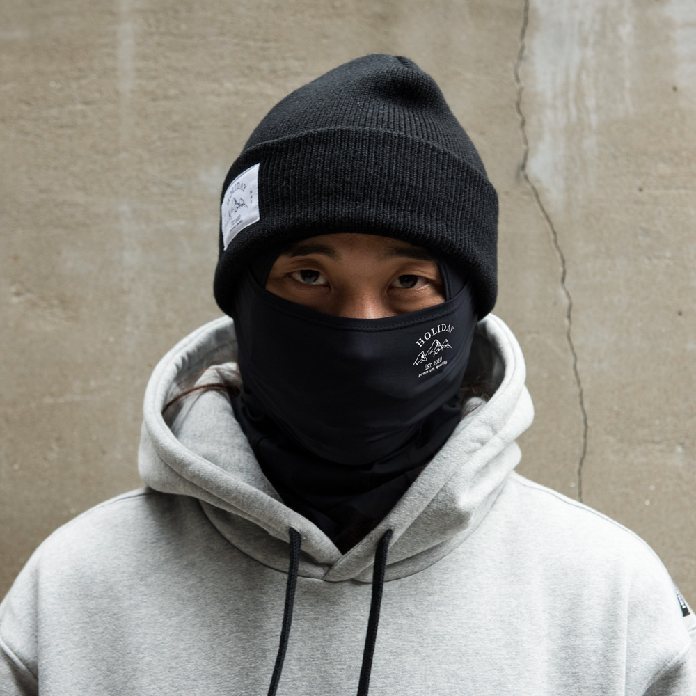 남자 바라클라바 MTM balaclava - black[comfort]HOLIDAY OUTERWEAR