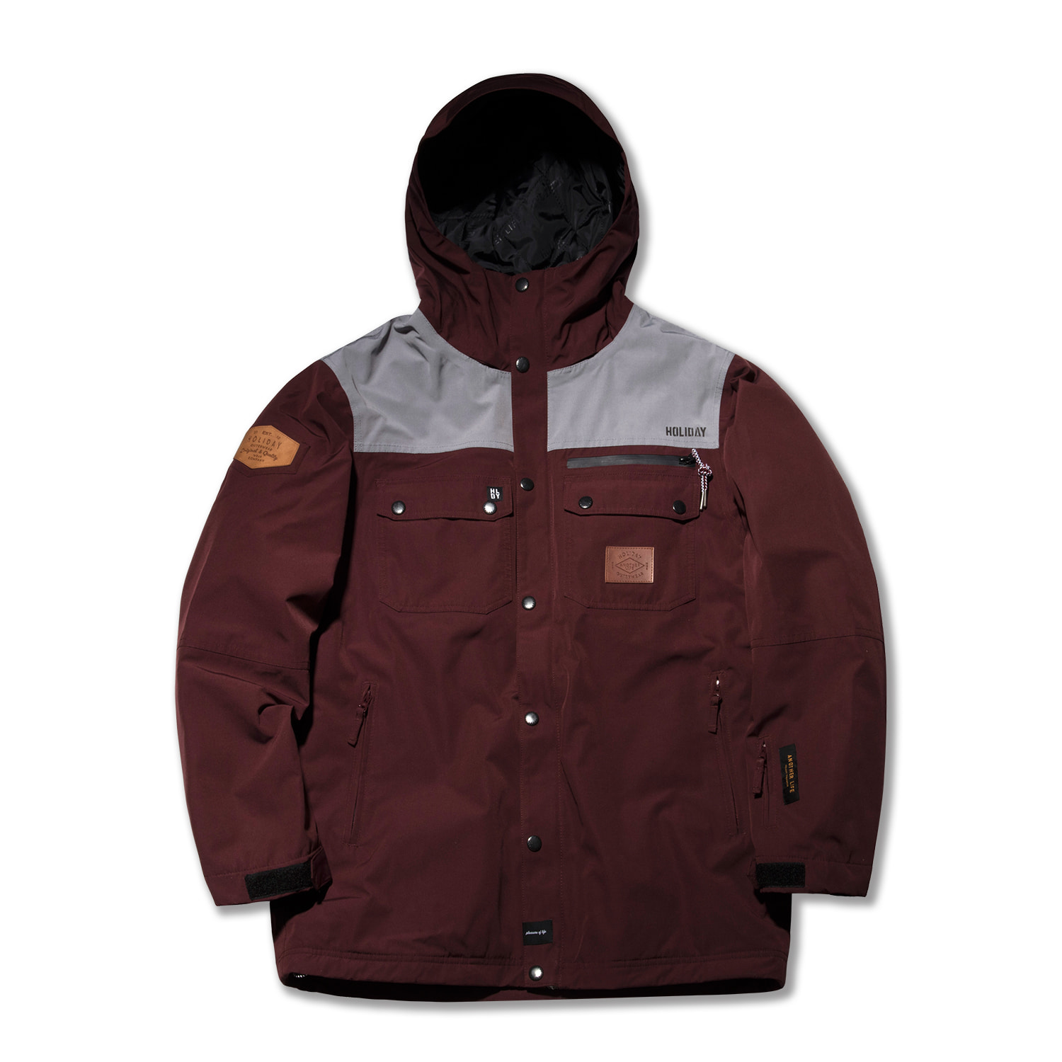TYPE-NT jacket - burgundy