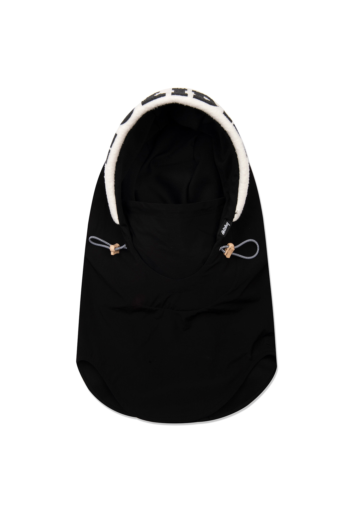 VISOR hood warmer - blackHOLIDAY OUTERWEAR