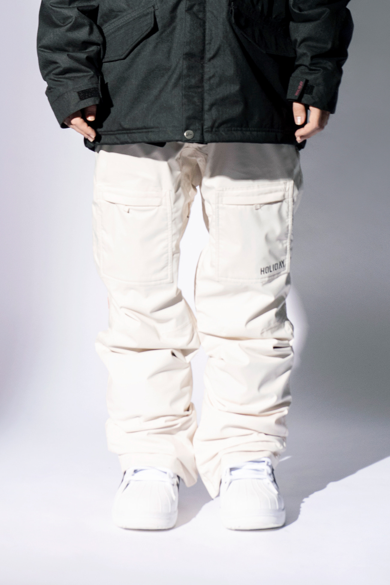 NOMAD pants - light beigeHOLIDAY OUTERWEAR