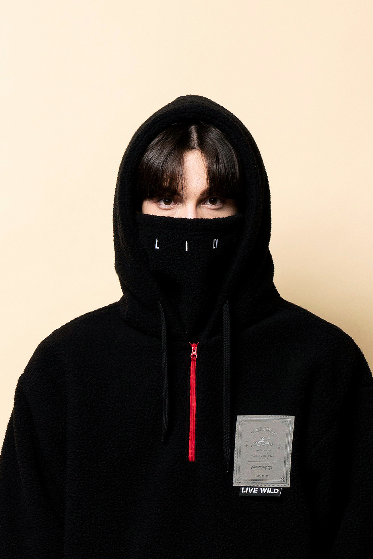 EZEE neck warmer - blackHOLIDAY OUTERWEAR