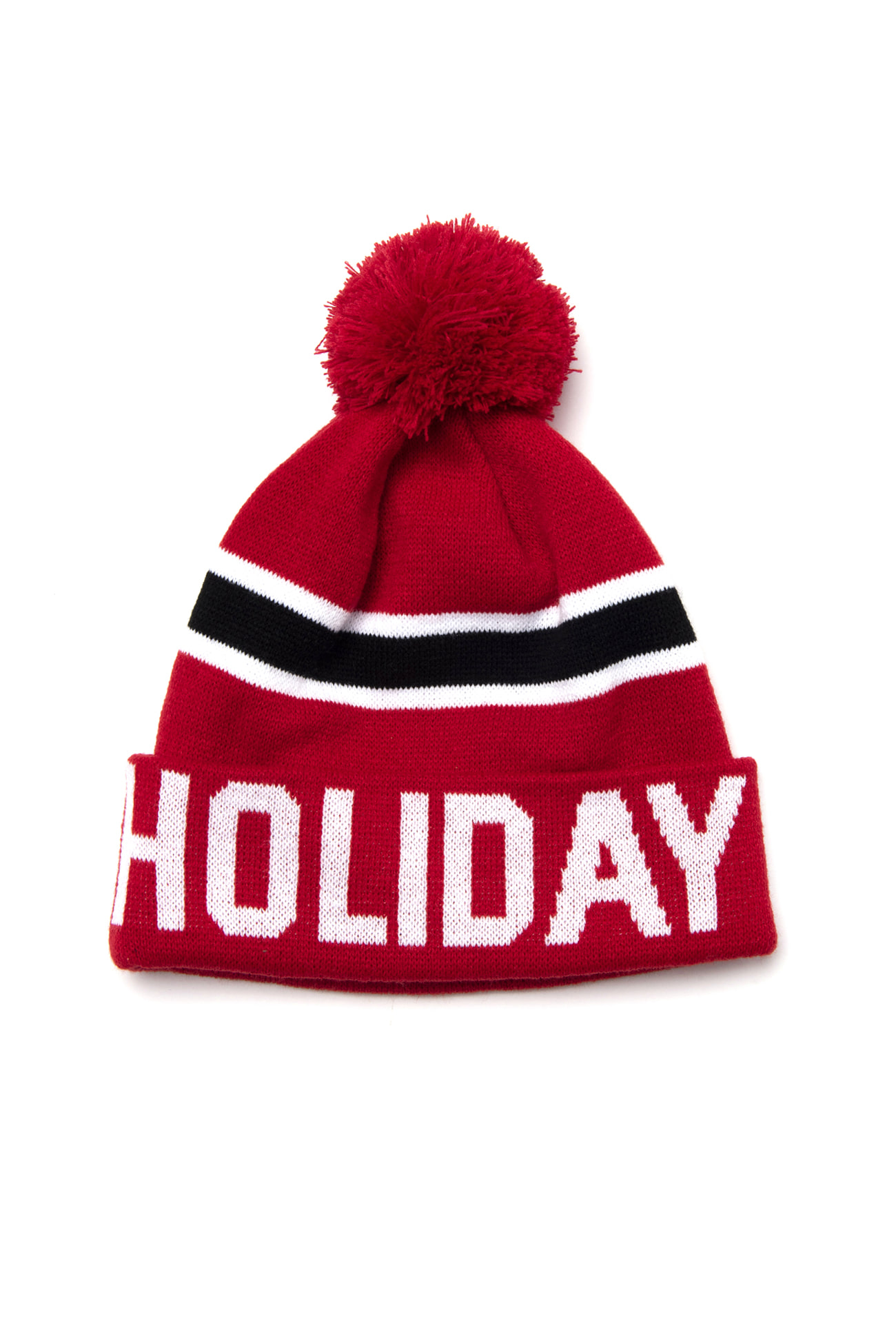 LINE beanie - redHOLIDAY OUTERWEAR