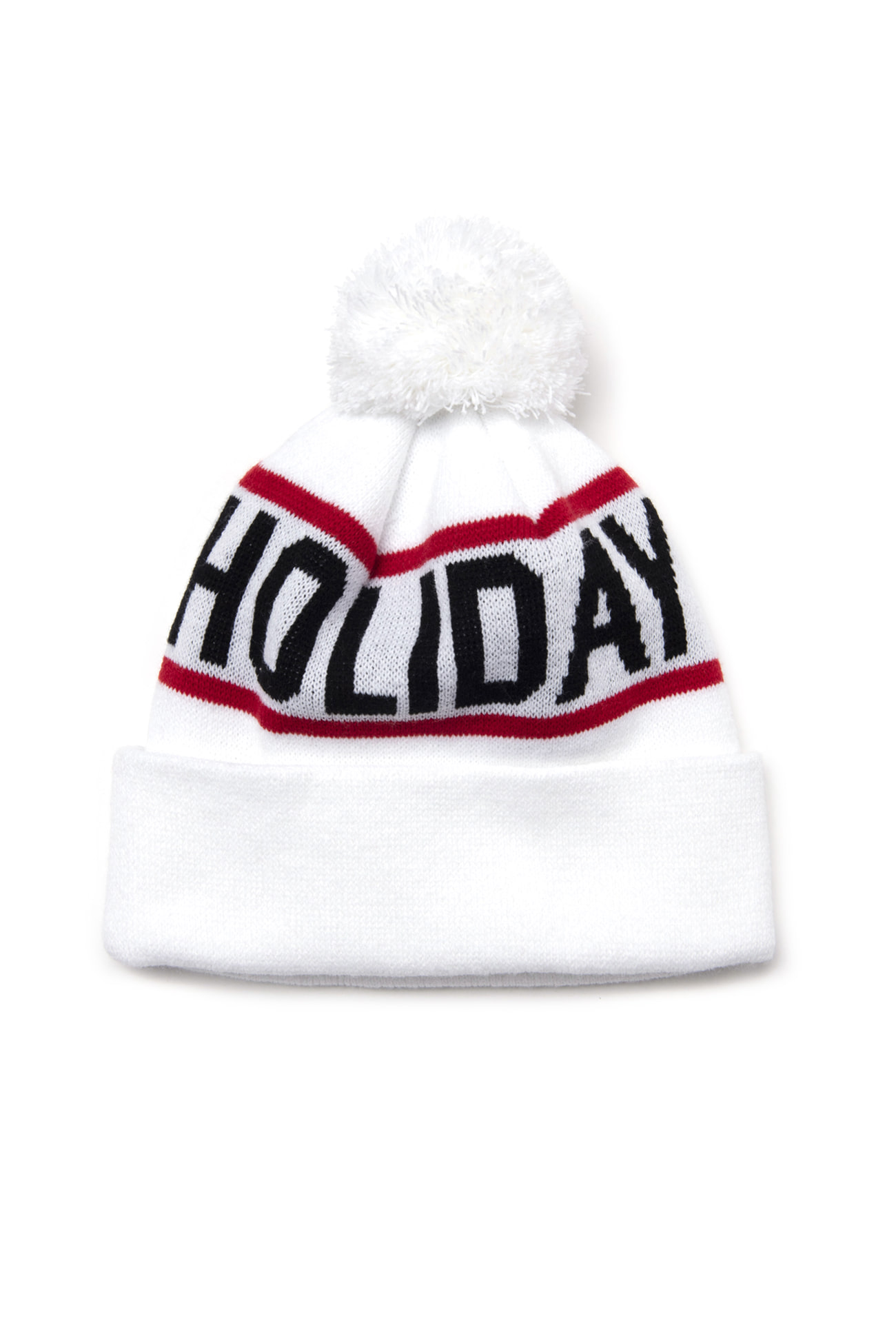 FLAKE beanie - whiteHOLIDAY OUTERWEAR