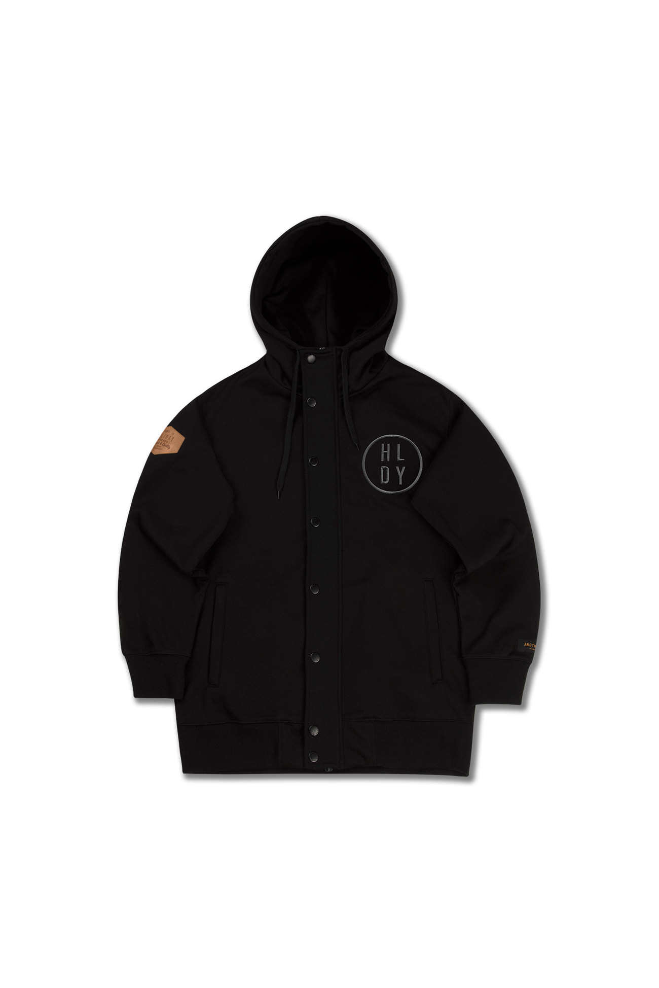 PLAYER waterproof zipup[방수후드] - blackHOLIDAY OUTERWEAR