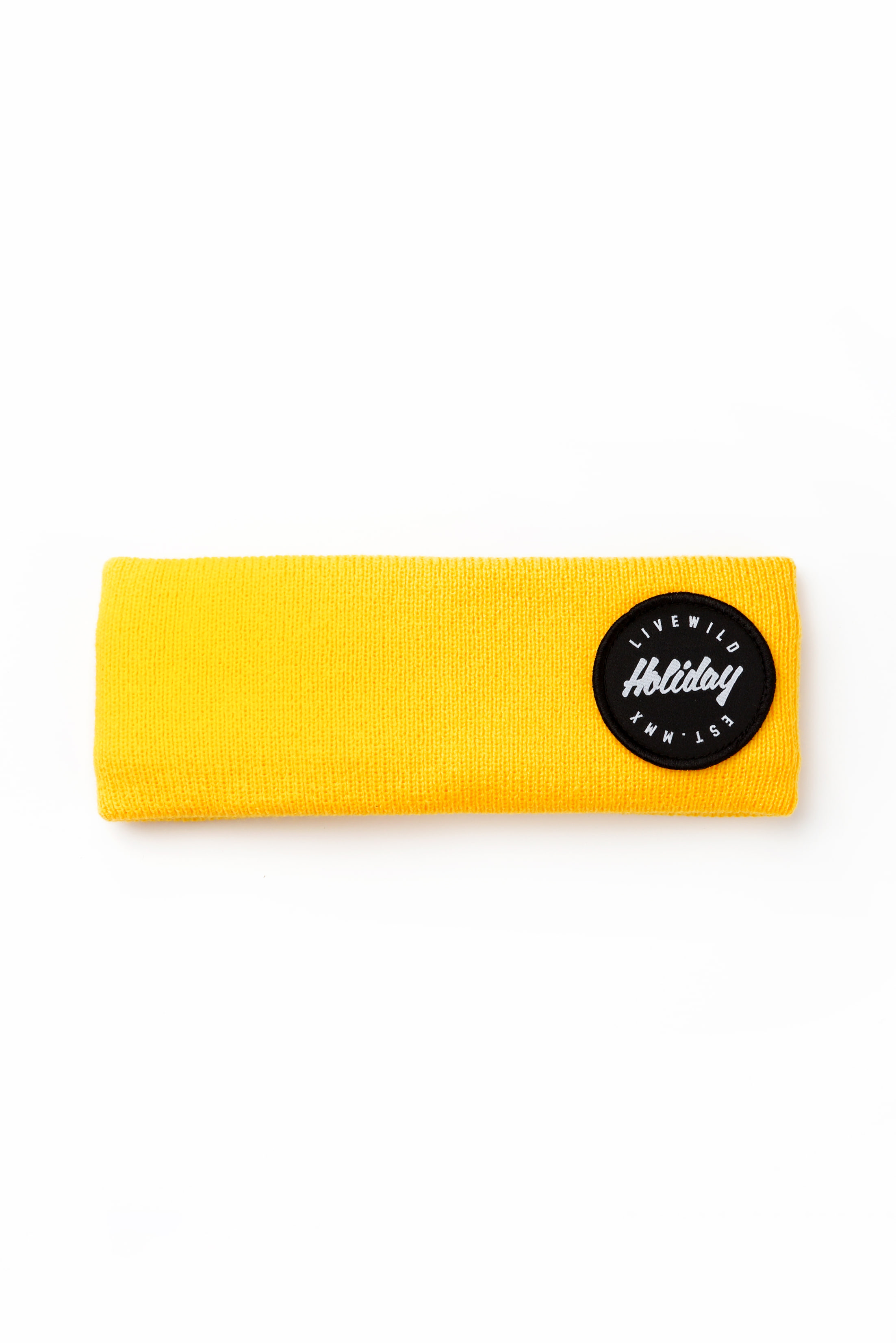 CREW hairband - yellowHOLIDAY OUTERWEAR