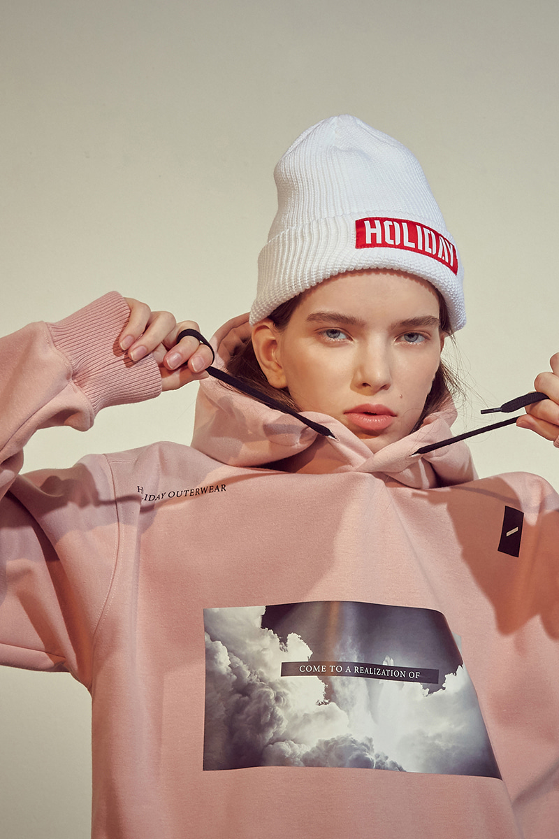 MOMENT waterproof hoodie - indy pinkHOLIDAY OUTERWEAR