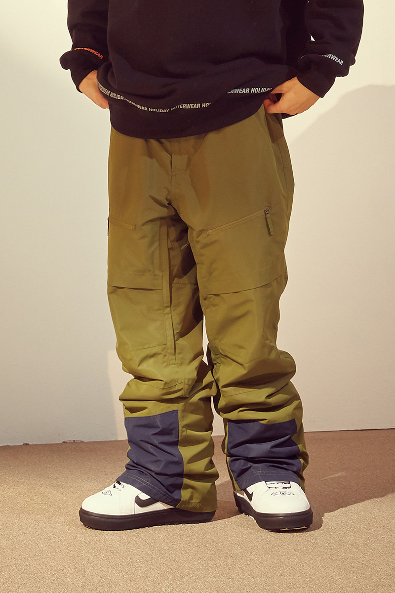 UNKNOWN pants - olive greenHOLIDAY OUTERWEAR