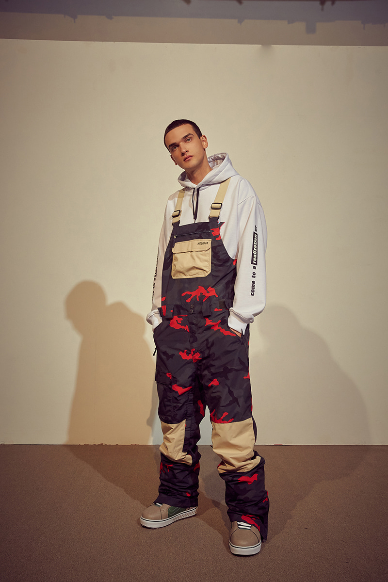 ASTRO bib pants - camoHOLIDAY OUTERWEAR