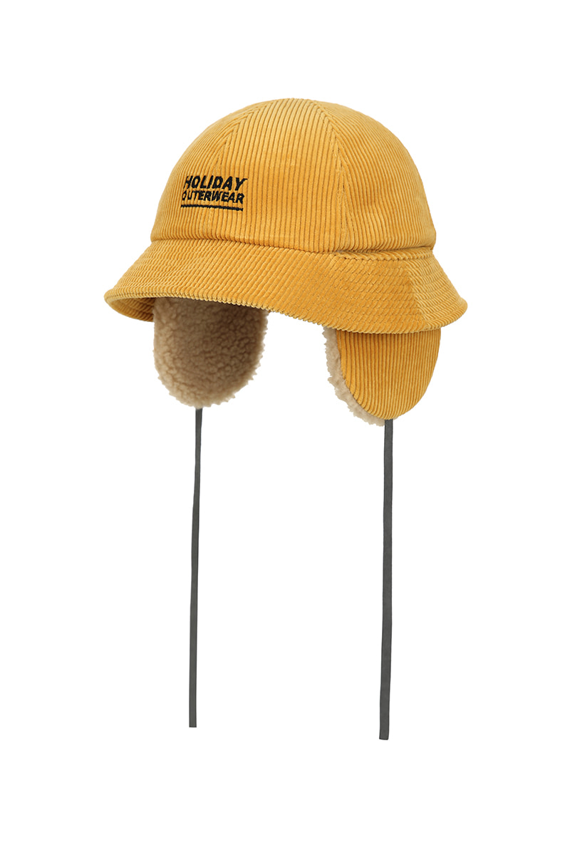 3 UTIL bucket hat - mustardHOLIDAY OUTERWEAR