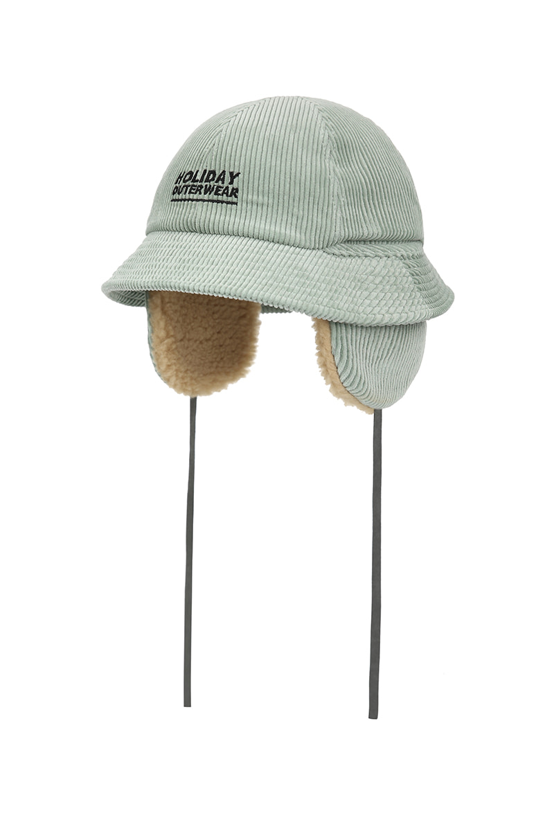 3 UTIL bucket hat - greymintHOLIDAY OUTERWEAR