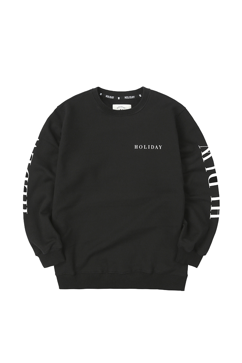 CREW inner crewneck - blackHOLIDAY OUTERWEAR