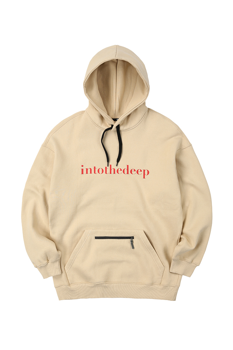 ESSENTIAL hoodie - lightbeigeHOLIDAY OUTERWEAR