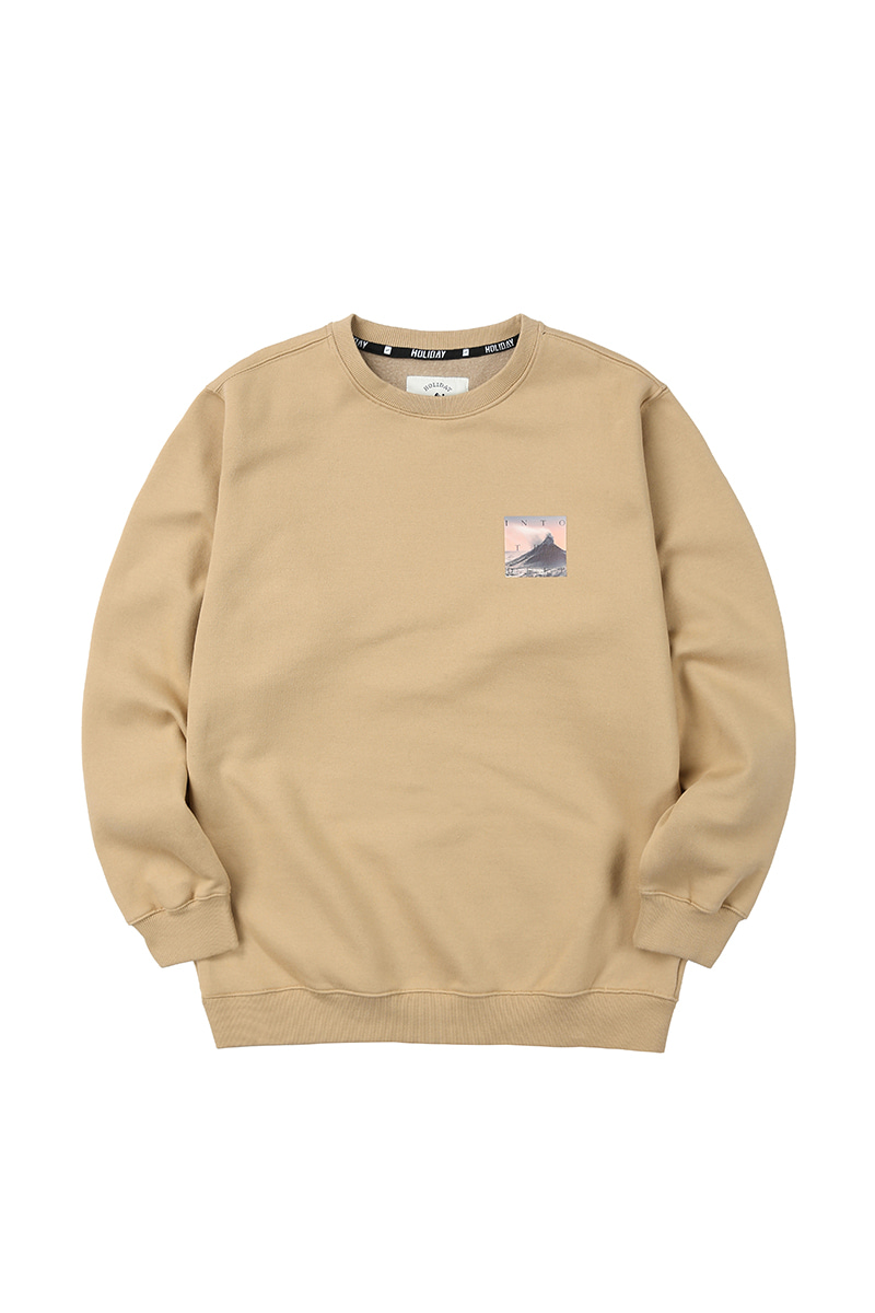 CRUMBLE crewneck - beigeHOLIDAY OUTERWEAR
